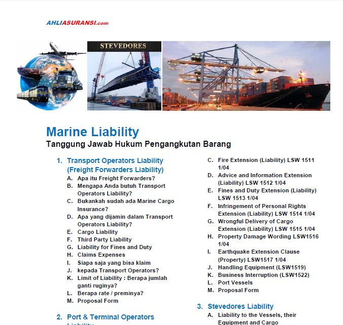 Marine Liability