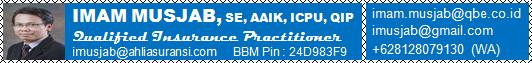 See Profile IMAM MUSJAB, SE, AAIK, ICPU, QIP