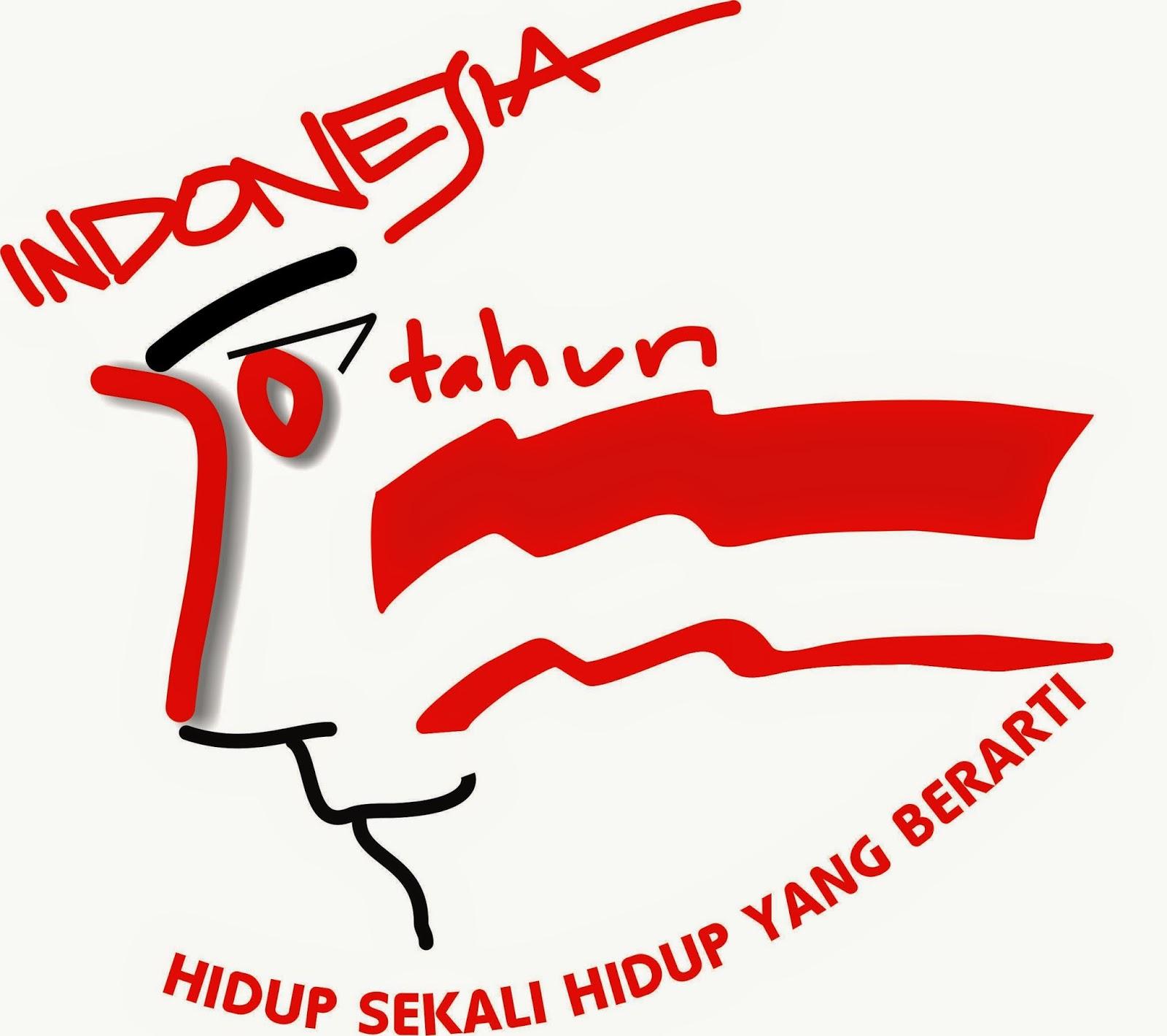 LOGO 70 TAHUN INDONESIA MERDEKA oleh Susetyo Basuki 09 april 2015